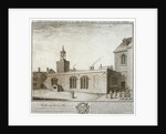 South-east view of the Chapel of St Peter ad Vincula, Tower of London by William Henry Toms