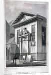 Lyon's Inn Hall, Lyon's Inn, Westminster, London by W Symms