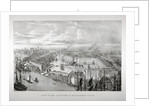 View of the proposed St Katharine's Dock, London by Thomas Mann Baynes