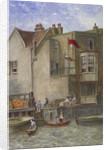The Cock Inn, St Katherine's Way, Stepney, London by JT Wilson