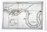 Plan of the River Thames showing the London Docks and the Isle of Dogs, 1797 by Anonymous