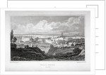 View of Woolwich with the River Thames in the distance by J Hinchcliff