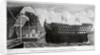 Launch of HMS 'Trafalgar', Woolwich Royal Dockyard, Kent by John Henry Banks
