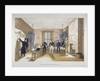 Scene in a barrack room at the Royal Military Academy, Woolwich, Kent by