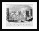 The York and Lancaster towers at Windsor Castle, Berkshire by Anonymous