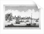 Tower of London by Balthasar Friedrich Leizelt