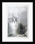 View of the Tower of London from the moat by