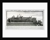 West view of the Tower of London, with a description by
