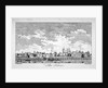 South view of the Tower of London with boats on the River Thames by William Elliot