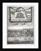 Two views of the Tower of London with boats on the River Thames by