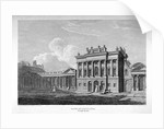 View of the south front of the Bank of England, City of London by James Stewart