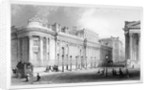 The south front of the Bank of England, City of London by Thomas Hosmer Shepherd