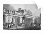 The south front of the Bank of England, City of London by