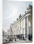 View of the Bank of England City of London by Thomas Shotter Boys