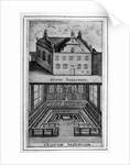 View of exterior of building and anatomical theatre inside by Anonymous