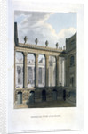 View of inner courts at the Bank of England, City of London by Anonymous