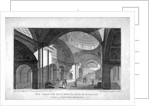 The New Three Percent Office at the Bank of England, City of London by Robert Cabbel Roffe