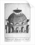 Section of the Rotunda at the Bank of England, City of London by Thomas Prattent