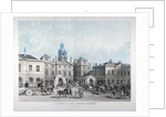 A view of the Horse Guards from Whitehall, Westminster, London by Anonymous