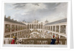 A View of the New Hungerford Market, Westminster, London by
