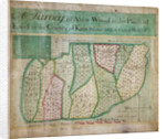 Map of Abbey Wood, part of Erith or Lesnes Manor on the eastern boundary of Woolwich, Kent by Anonymous