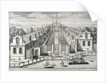 Trinity Almshouses, Mile End Road, Stepney, London by Simon Gribelin