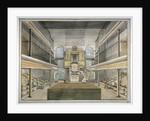 Interior view of the chapel, Horsemonger Lane Prison, Union Road, Southwark, London by G Yates