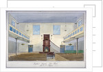 Inteiror view of Lion Street Baptist Chapel, off New Kent Road, Southwark, London by G Yates