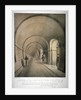 View of the (proposed) western archway of the Thames Tunnel, London by Anonymous