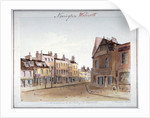 View of Walworth village, Southwark, from the north entrance, London by John Hassell