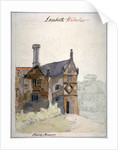 View of a house in Lambeth Marsh, London by