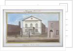 View of the chapel in Penton Street, Southwark, London by G Yates