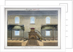 Interior view of Acton Place Chapel, Southwark, London by G Yates