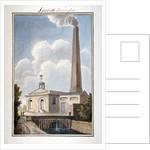 New London Waterworks, Vauxhall, Lambeth, London by