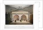 View of the entrance to the Thames Tunnel, London by Jules Louis Arnout