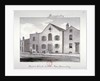 View of the Baptist Chapel on Jamaica Row, Bermondsey, London by