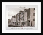 View of the Three Tuns public house on Jacob Street, Bermondsey, London by John Chessell Buckler