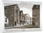 View of Parish Street and Artillery Street, Bermondsey, London by John Chessell Buckler