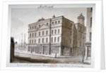 View of Borough High Street and the corner of London Bridge, Southwark, London, 1828 by