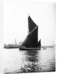 Topsail barge under sail on the Thames, London by Anonymous