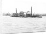 Ferry 'Gordon' on the Thames, London by