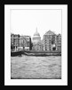 Lighters passing St Paul's Wharf with St Paul's Cathedral in the background, London by Anonymous