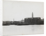 View of the South Bank between Blackfriars and Waterloo showing the Oxo Tower, London by