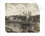 Tower of London from Tower Bridge, London by Anonymous