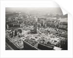 View from St Paul's Cathedral towards Southwark Bridge, London, World War II by