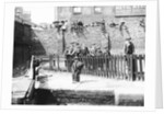 Boys by a lock on the Grand Union Canal, London by Anonymous