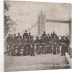 Group of artillery at Tower Bridge, London by Anonymous