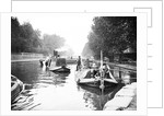 Boats on Regent's Canal, London by