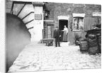 Eastern entrance to Pentonville Tunnel and tunnel keeper's cottage, Regent's Canal, London by Anonymous