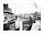 The industrial landscape on the Regent's Canal, London by